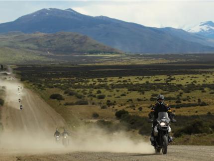 Roadtrip Patagonia Moto